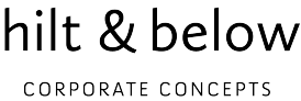 hilt & below Corporate Concepts LOGO